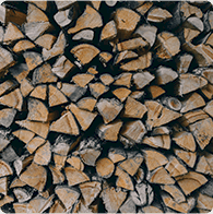 book a firewood delivery of a cord, face-cord, or half face-cord today